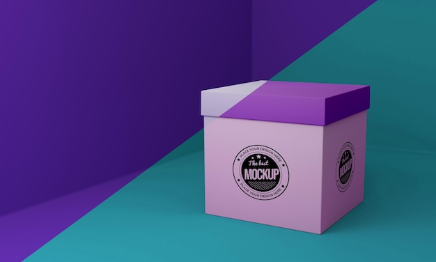Packaging box concept mock-up