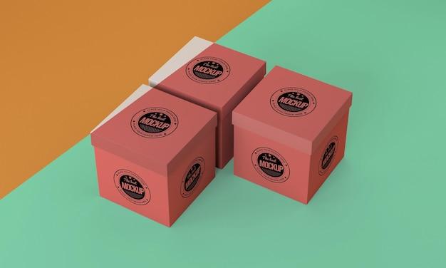 포장 상자 모형