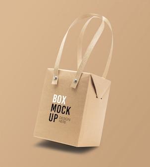 Packaging box mockup