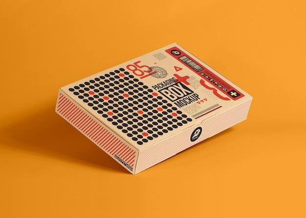 Картонная коробка для упаковки, макет