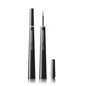 Packaging cosmetic eyeliner mock up