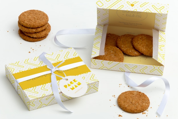 Packaging mock up design