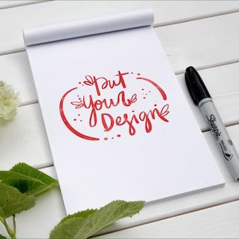 Pad template design