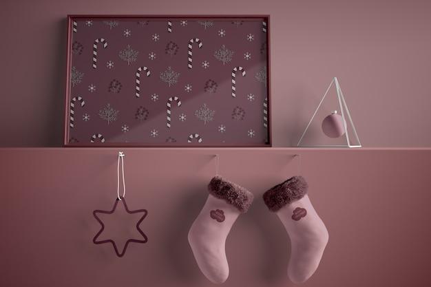 クリスマスのテーマのペイント