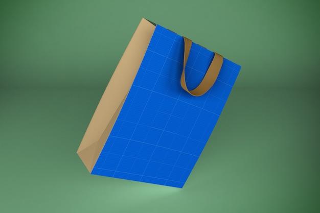 Бумажный пакет 3d рендеринг