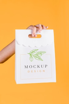 Paper bag concept mock-up