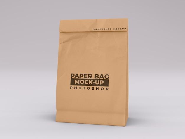 紙袋のモックアップ