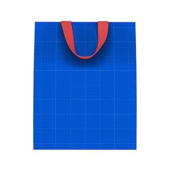 종이 봉지 모형