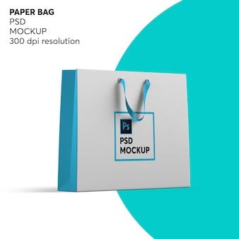 Макет бумажного пакета