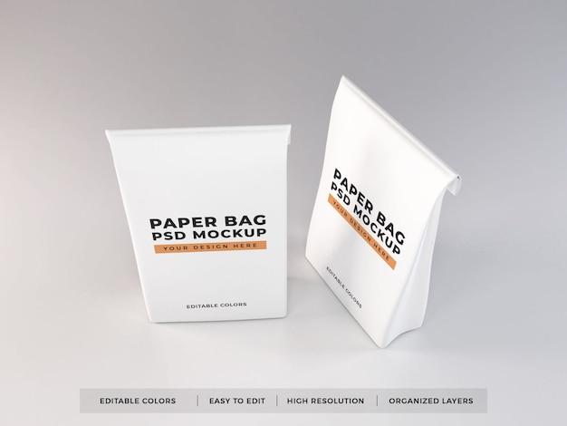 종이 봉투 포장 모형