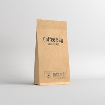 Paper bag packaging mockup
