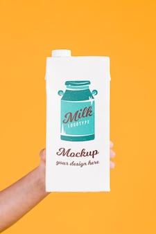 Paper bottle concept mock-up