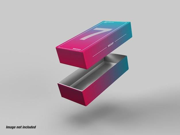 Бумажная коробка для подарка или смартфона