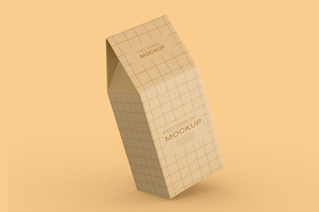 Бумажные коробки упаковка макет