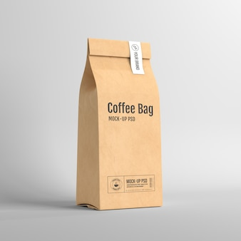 Paper coffee bag packaging