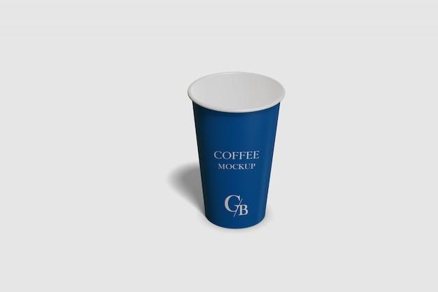 Бумажная чашка кофе