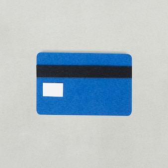 Paper craft design of credit card icon