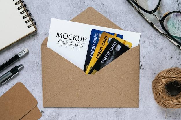 紙のグリーティングカード