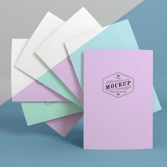 Макет бумажной поп-концепции