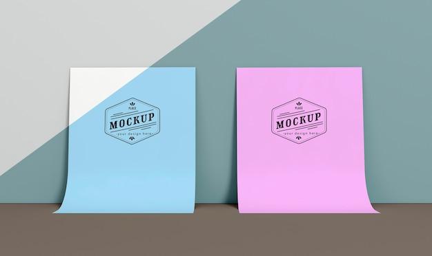 Paper pop concept mock-up