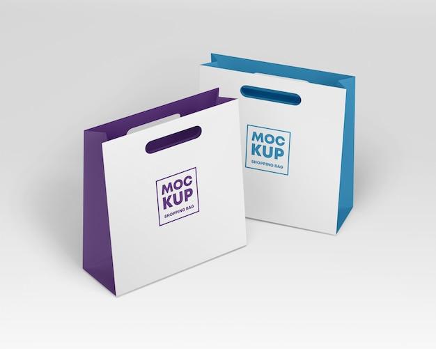 Бумажные сумки макет