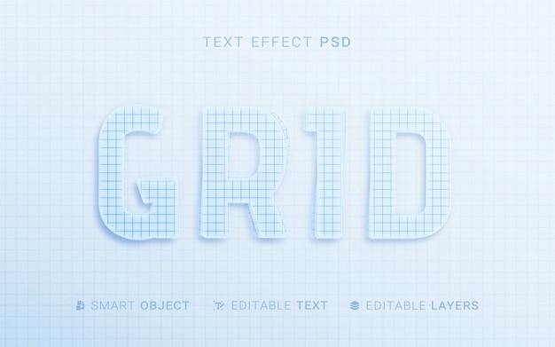 Paper style text effect