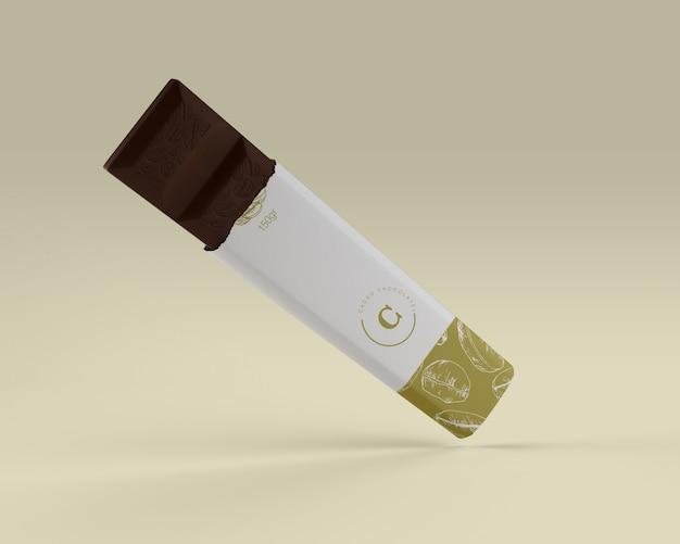 Бумажная упаковка для макета шоколада