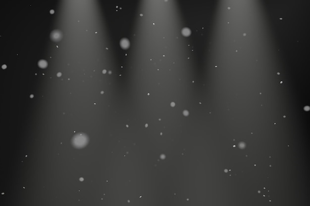 Particle of dust background design