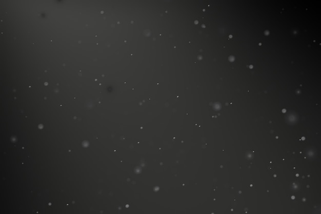 Particle dust background with dark light