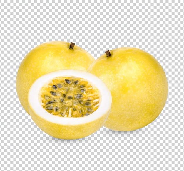 パッションフルーツ; passifloraedulisはプレミアムpsdを分離しました