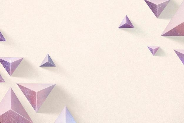 パステル幾何学テンプレートの背景