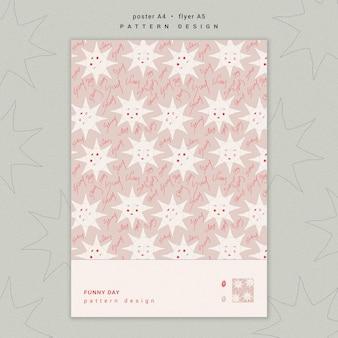 Шаблон дизайна плаката шаблон