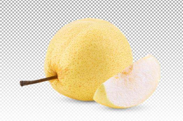 分離された梨果実