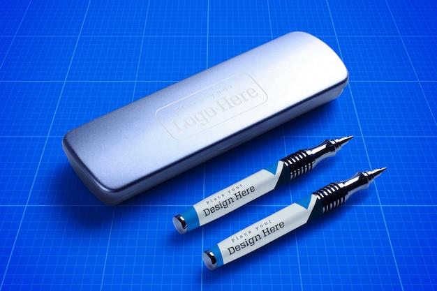 펜 상자 모형