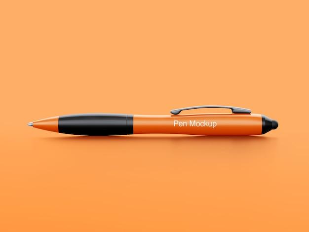 マーチャンダイジングのためのペンのモックアップ