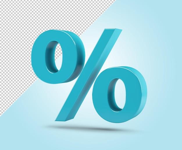 Изолированный шаблон знака процента
