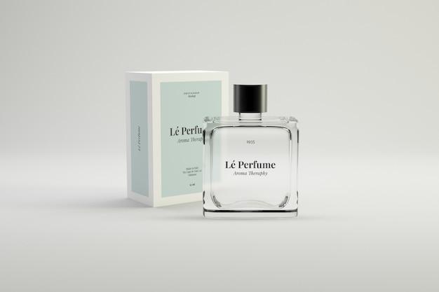 Perfume psd mockup