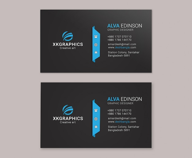 Personal creative business card
