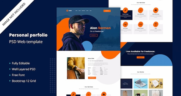 Personal Website Images Free Vectors Stock Photos Psd
