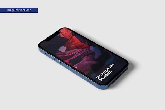 Perspective smartphone mockup