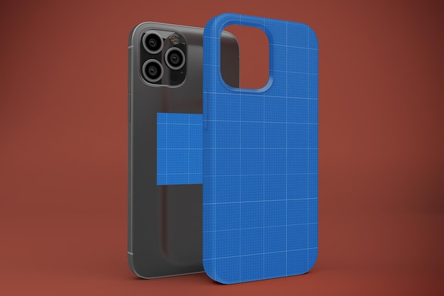 Phone 12 case mockup