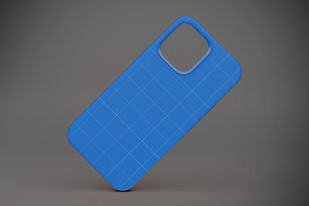 Phone 12 case mockup Premium Psd