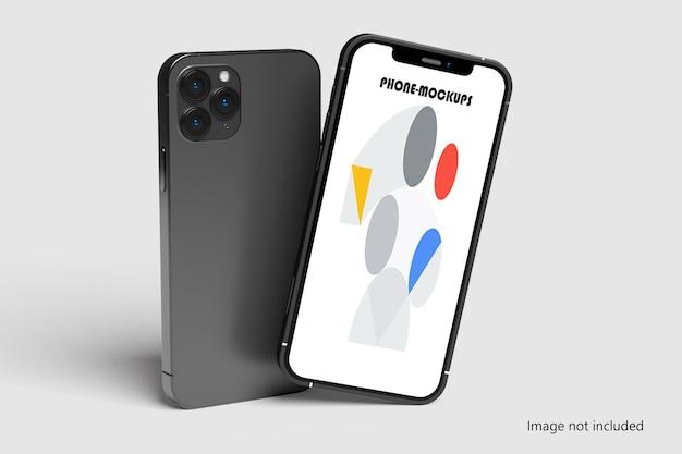 전화 화면 모형