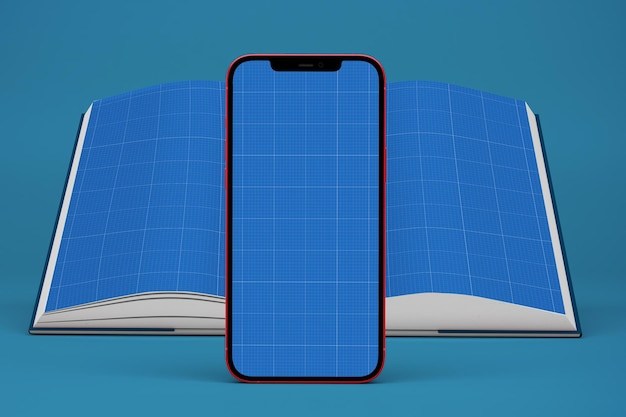 Phone and book