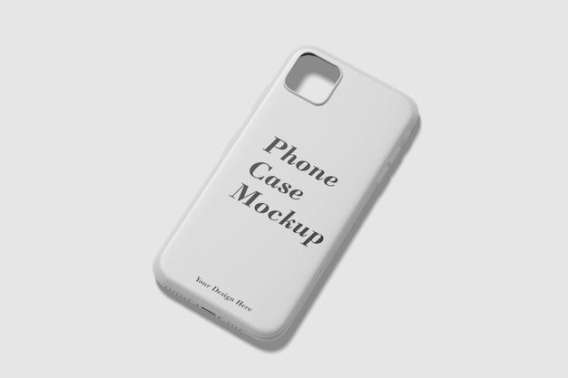 分離された電話ケースのモックアップ