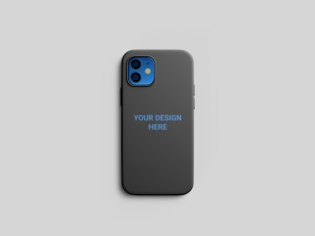 Phone case mockup isolated Premium Psd