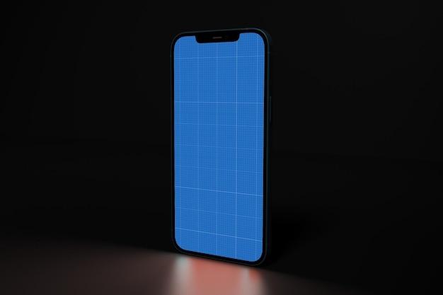 Phone in dark