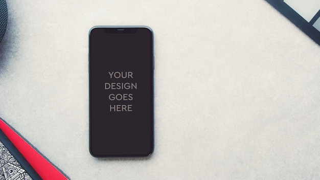 Phone display mockup