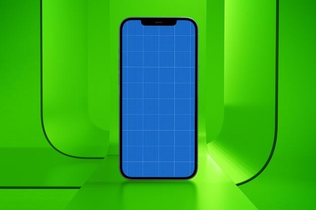 Phone on glass