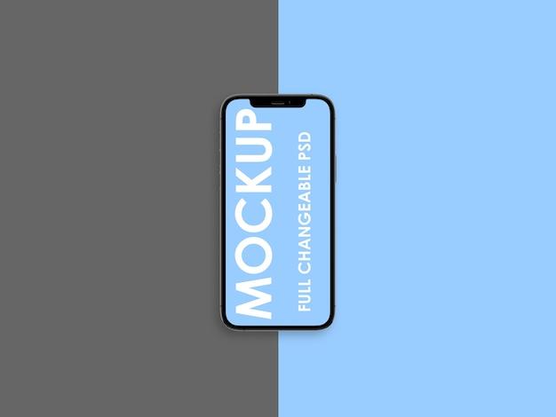Дизайн макета телефона изолирован